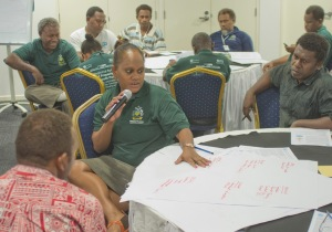 Honiara CASLE Symposium August 2014 HBA workshop 9 feedback