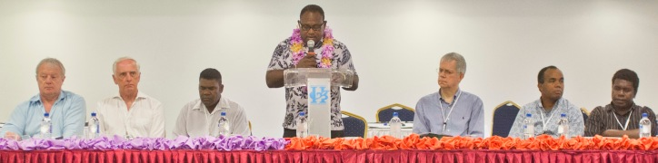 Honiara CASLE Symposium August 2014 Hon Manasseh Maelanga MP - opening address
