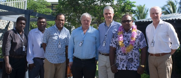 Honiara CASLE Symposium August 2014 Opening with Deputy PM